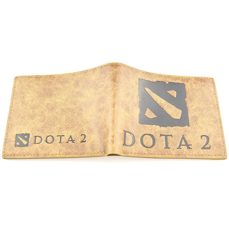 Dota2 Logo Money Clip Wallet Cosplay Accessorie