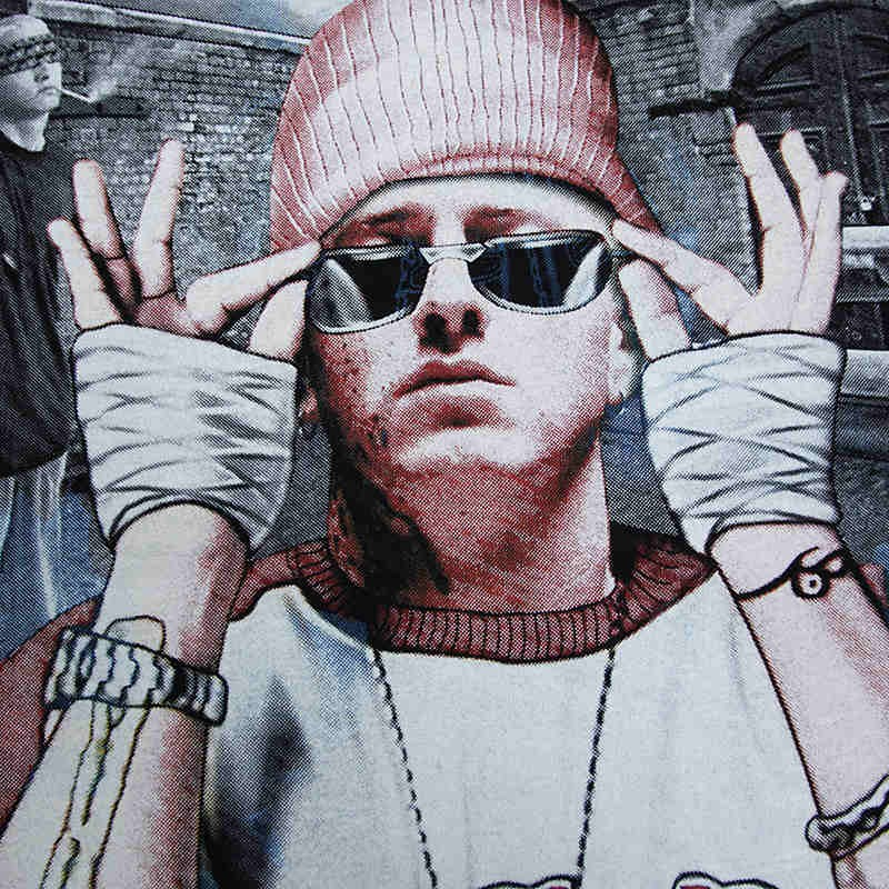 Eminem 3D Hip-Hop Style Tee Shirt T-shirt