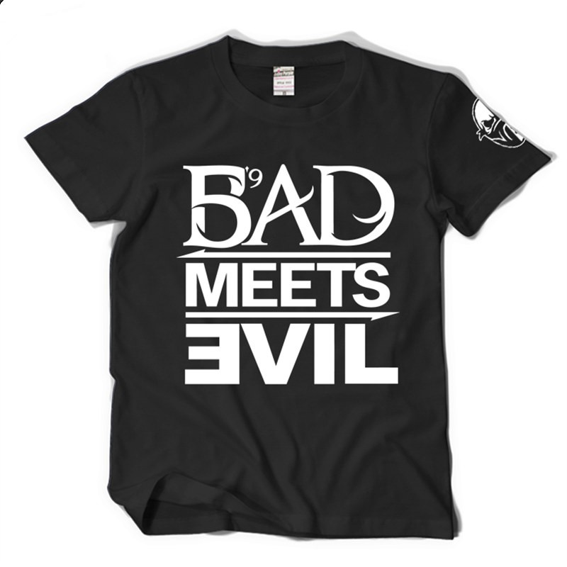 Eminem Bad Meets Evil Tee Shirt T-shirt