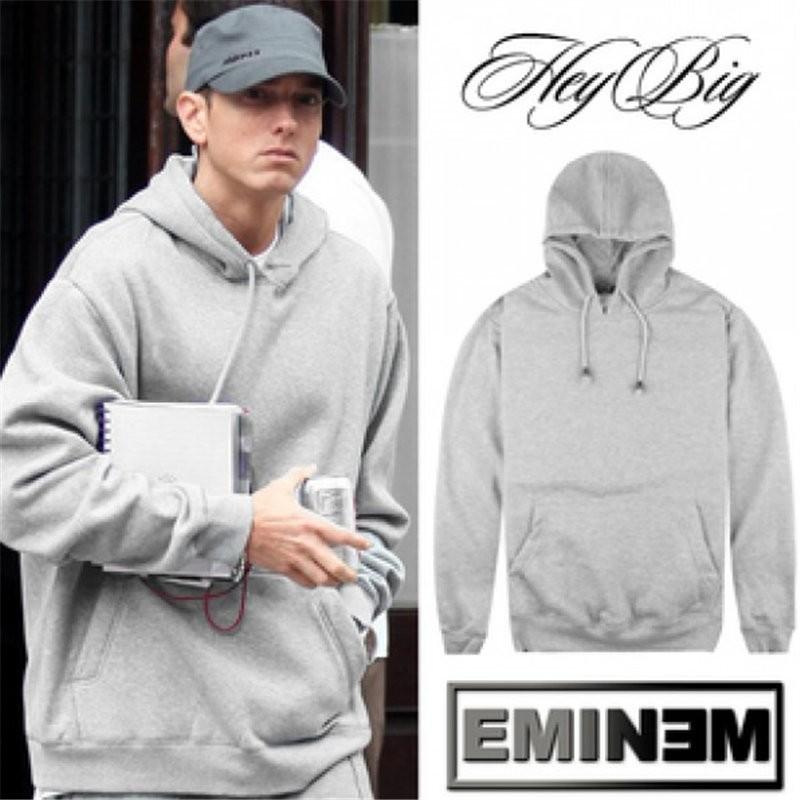 Eminem pure Gray pullover Sweatshirt Hoodies