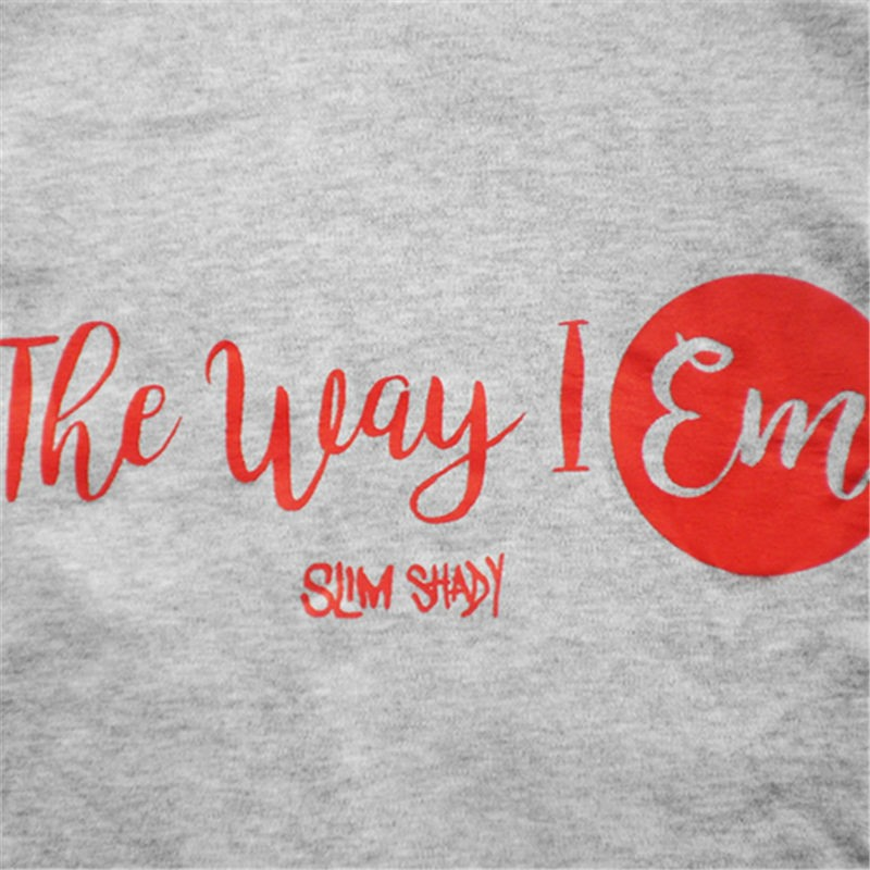 Eminem The Way I EM Hip-Hop Style Tee Shirt T-shirt
