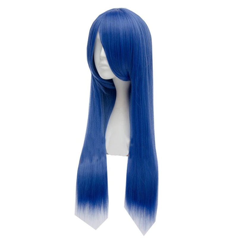 Fairy Tail Wendy Marvell Cosplay Anime Blue Wigs