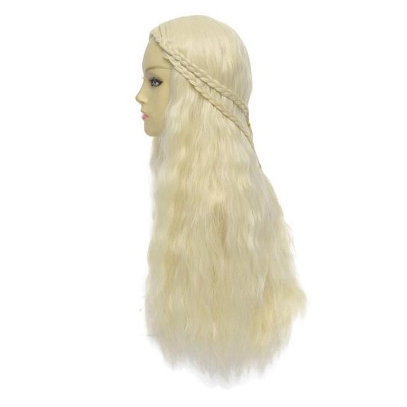 Game of Thrones Daenerys Targaryen Long Curly Cosplay Wig