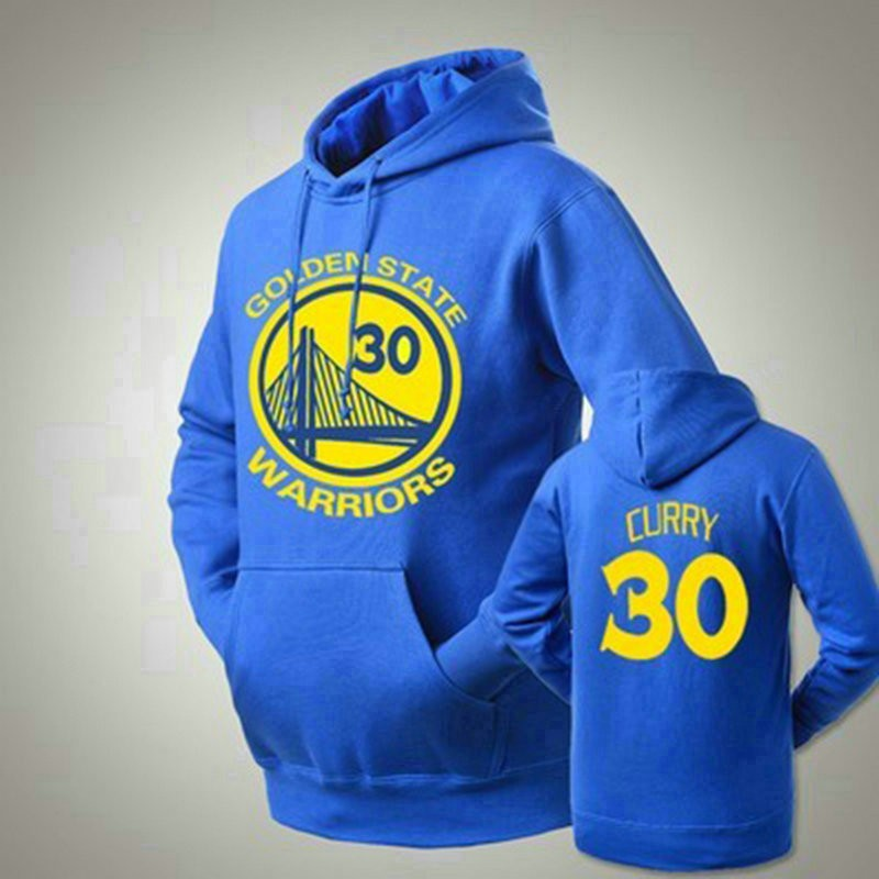 Golden State Warriors Stephen Curry 30 Logo Pullover Hoodies
