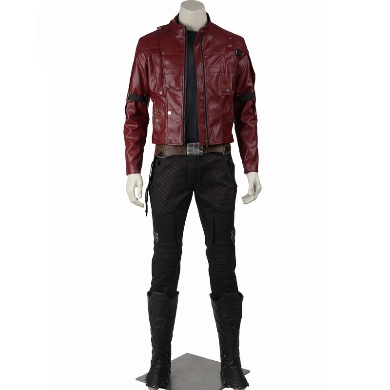 Guardians of the Galaxy Star Lord Cosplay Costumes Deluxe