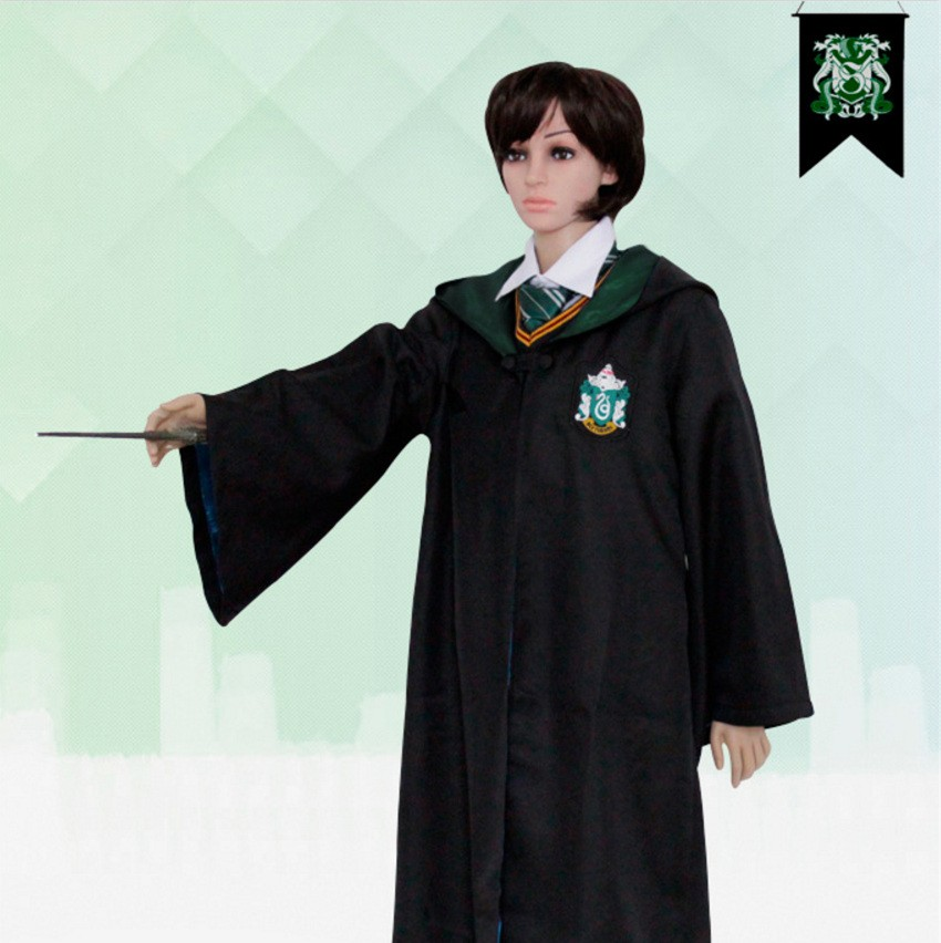 Harry Potter Slytherin School Robe