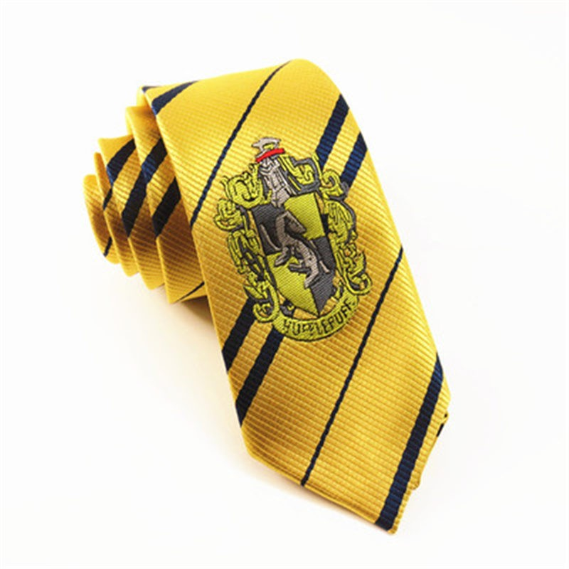 Harry Potter Cosplay Hufflepuff Tie