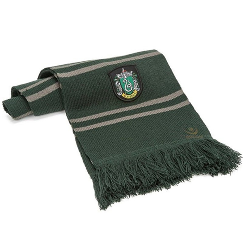 Harry Potter Slytherin Wool Scarf