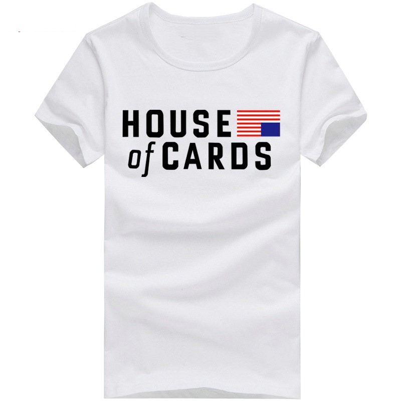 House Of Cards Cool Personalized Short Sleeve T-shirts