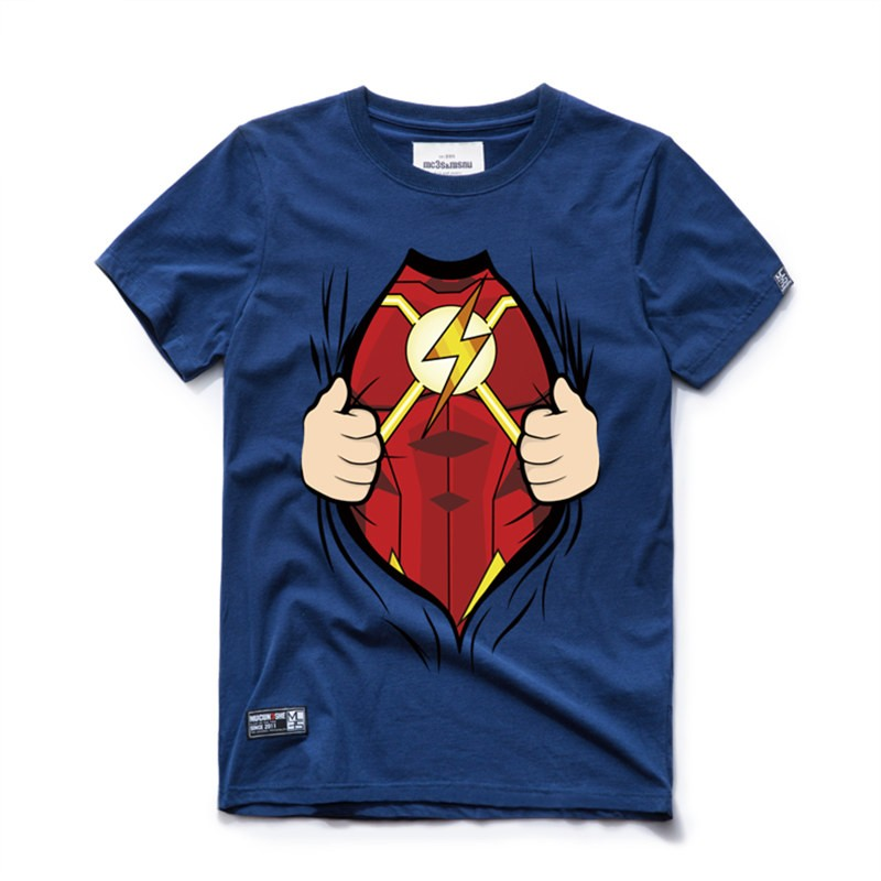 I AN The Flash Cosplay Tee Shirt T-Shirts
