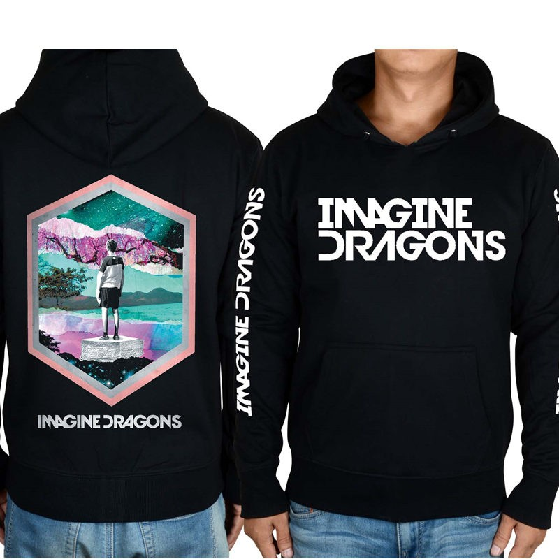 Imagine Dragons 3D Image Zipper Hoodies