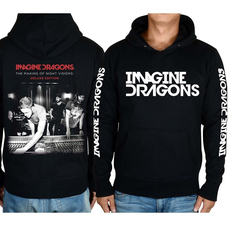 Imagine Dragons 3D Zipper Hoodies