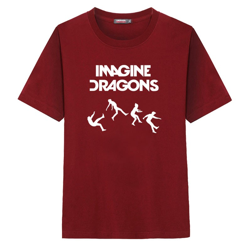 Imagine Dragons Men Rock T-shirt Tee Shirt