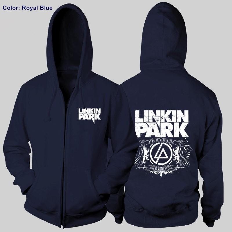 Linkin Park LOGO Cool Rock Zipper Hoodies