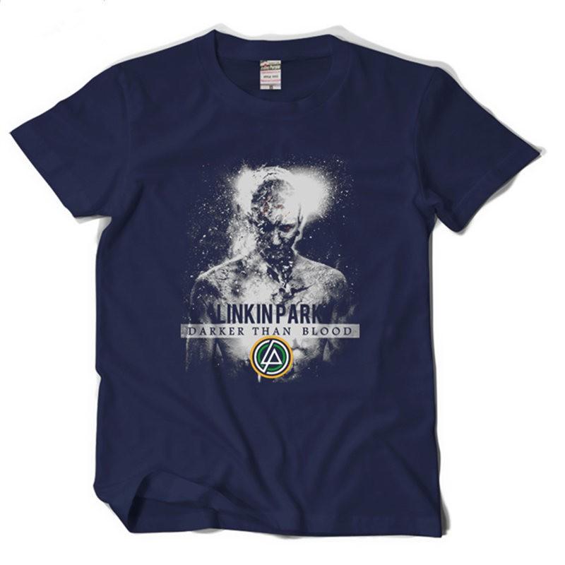 Linkin Park Darker Than Blood Rock Tee Shirt T-shirt