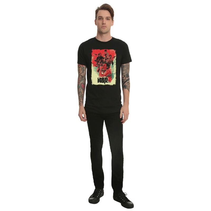 Linkin Park Rock Men Short Sleeve T-shirt Tee Shirt