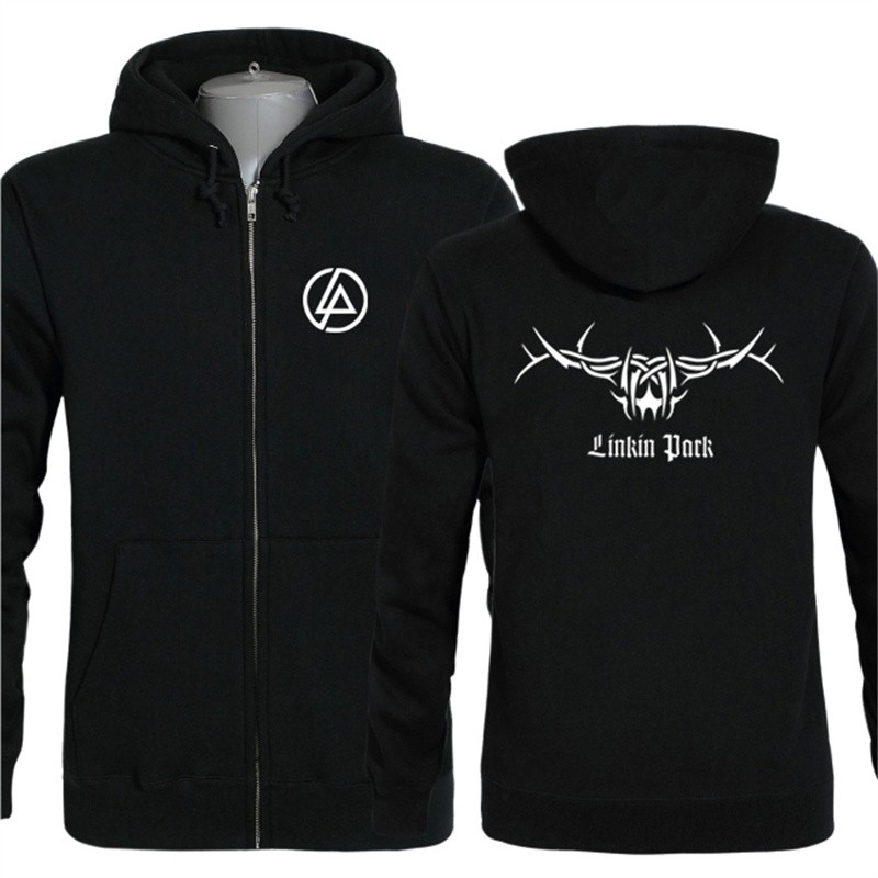Linkin Park Rock Zipper Hoodies