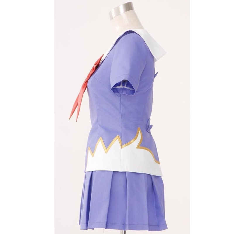 Mirai Nikki The Future Diary Gasai Yuno set 2nd Cosplay Costume