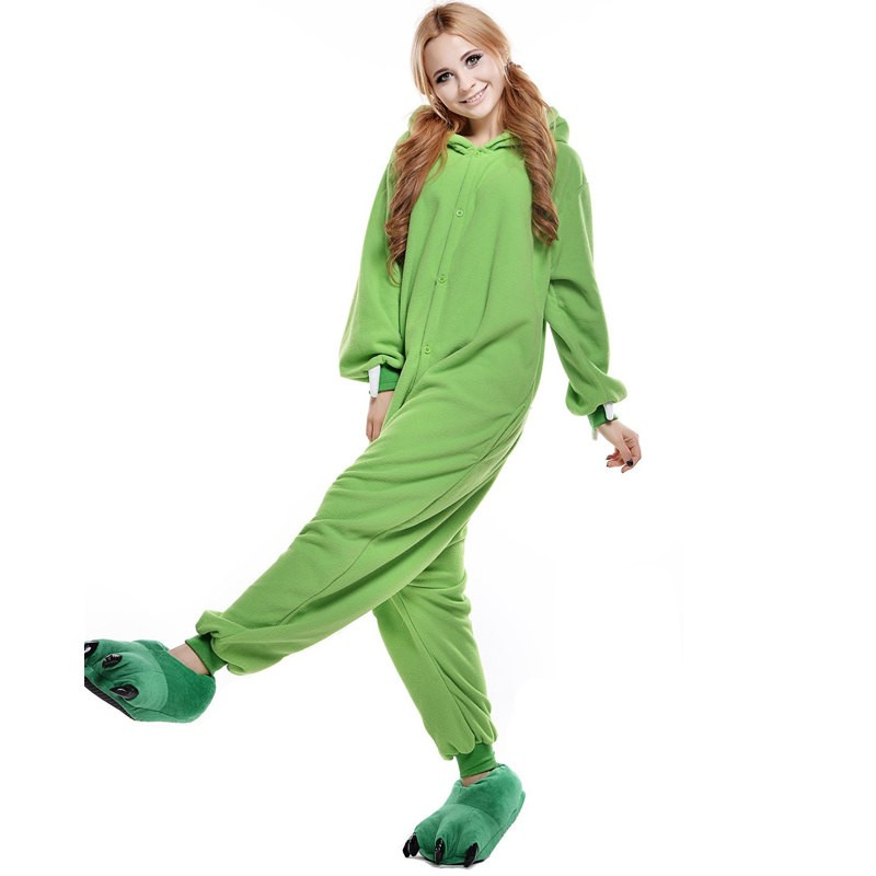 Monsters Inc. Mike Wazowski Onesie Kigurumi Pajama For Adults