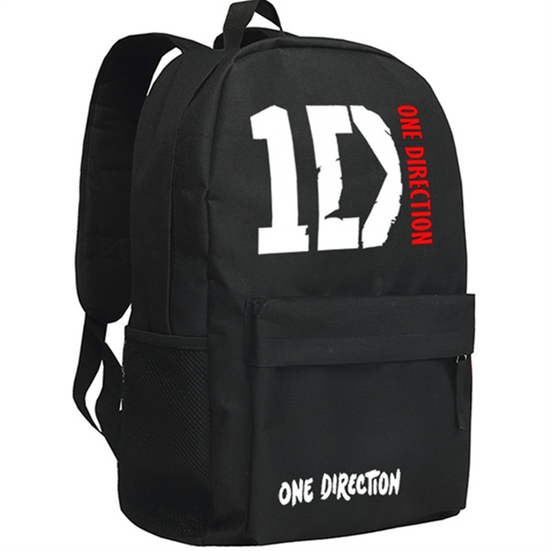 One Direction ID Backpack School Bags