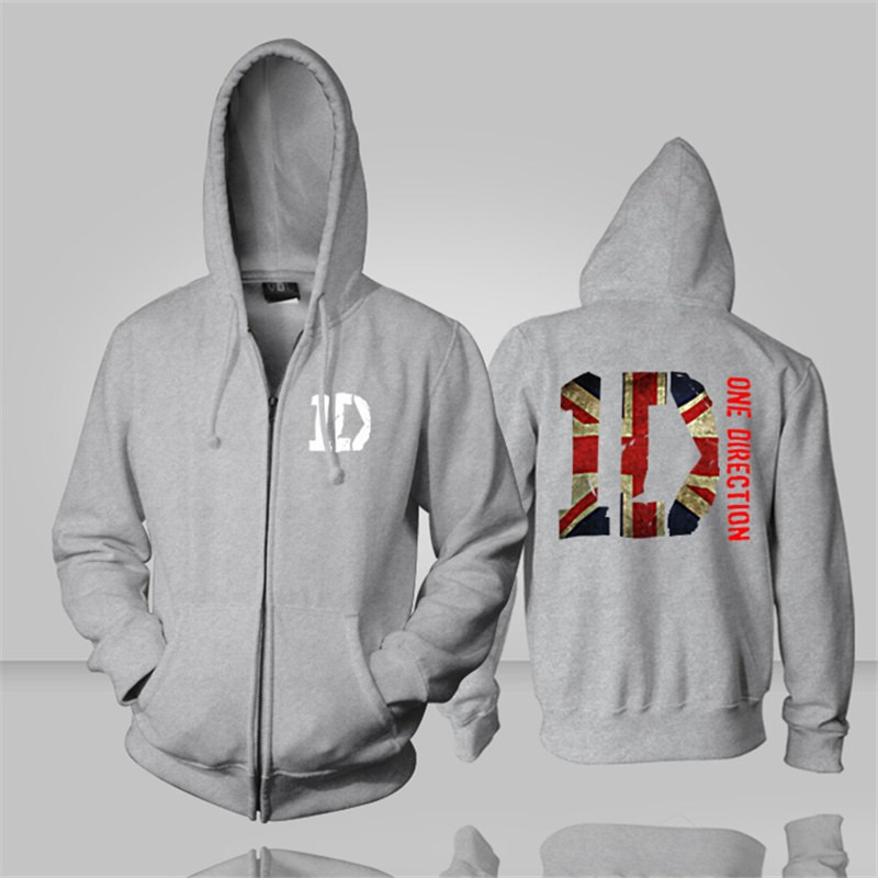 One Direction ID Zipper Hoodies
