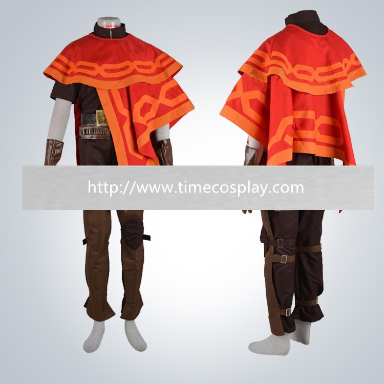 Overwatch Ow Jesse·Mccree Cosplay Halloween Costumes