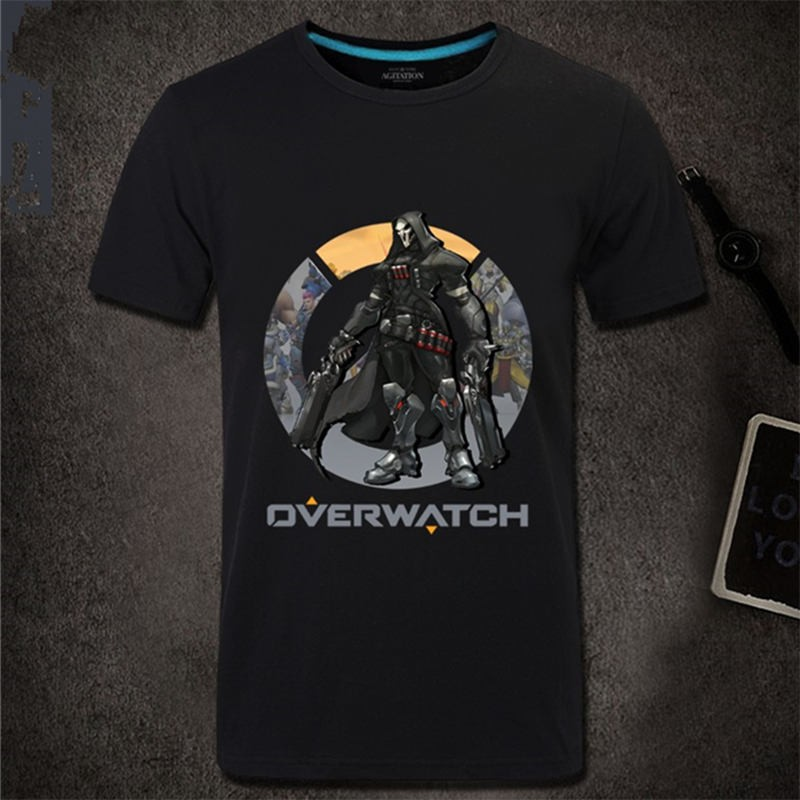 Overwatch Reaper Men Short Sleeve T-shirt