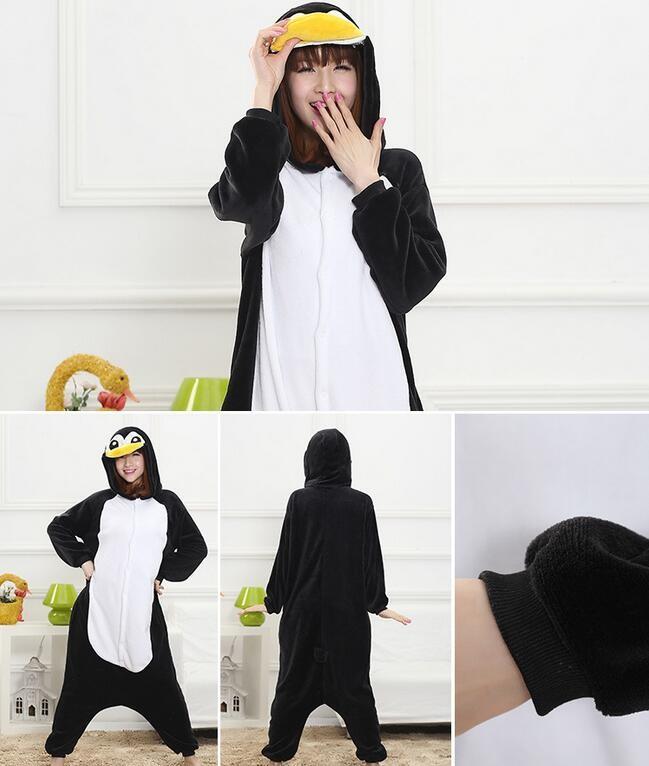 Penguin Onesie Kigurumi Pajamas For Adults