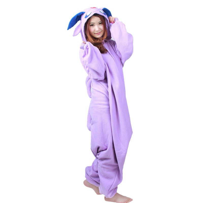 Pokemon Espeon Onesie Kigurumi Pajama For Adults