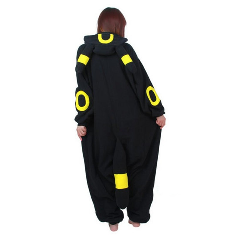 Pokemon Umbreon Onesie Kigurumi Pajama For Adults