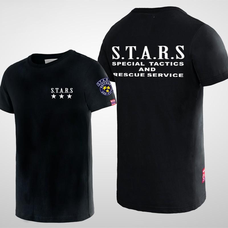 Resident Evil Stars Umbrella Special Tactics T-Shirts