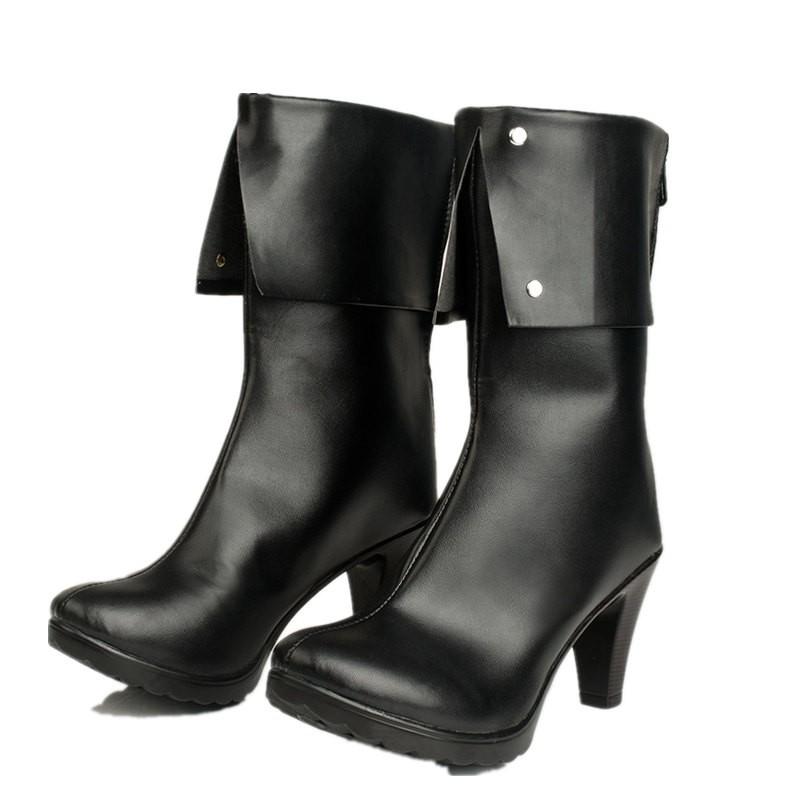 RWBY BlackTrailer Blake Belladonna Boots Cosplay Shoes