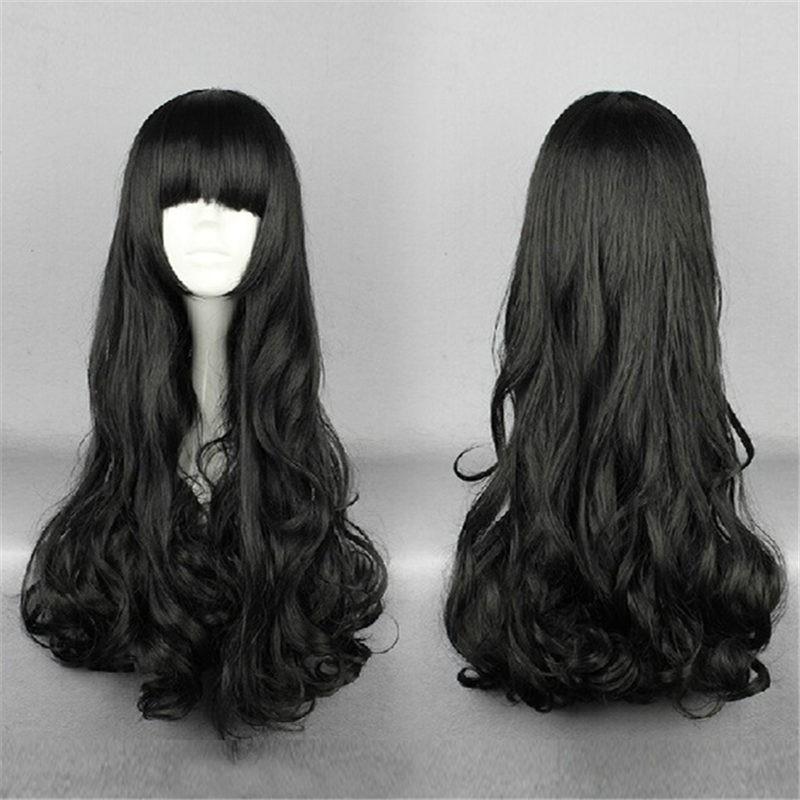 RWBY BlackTrailer Blake Belladonna Long Black Hair Cosplay Wig
