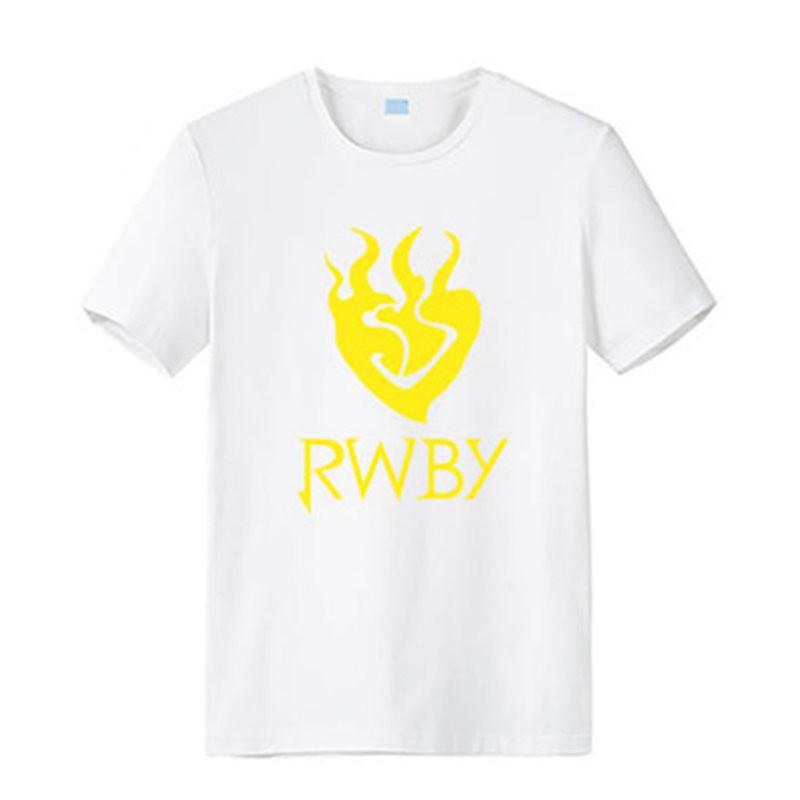 RWBY Yellow Trailer Yang Xiao Long Logo Men Short Sleeve T-shirt