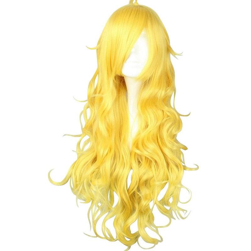 RWBY Yellow Trailer Yang Xiao Long long Blonde Hair Cosplay Wigs