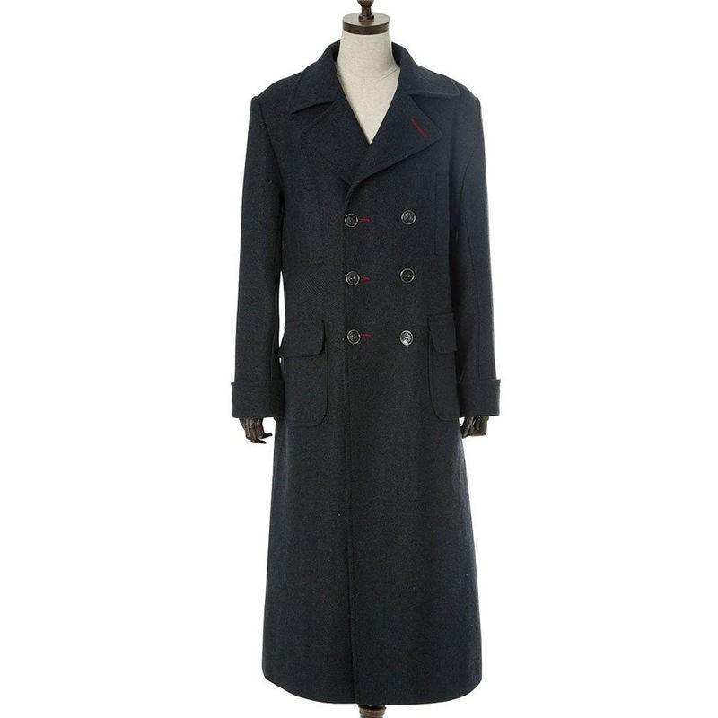 Sherlock Cosplay Holmes Wool Long Coat Jacket  Costume