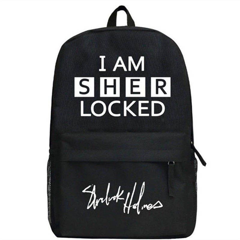 Sherlock Holmes I AM SHER LOCKED Backpack