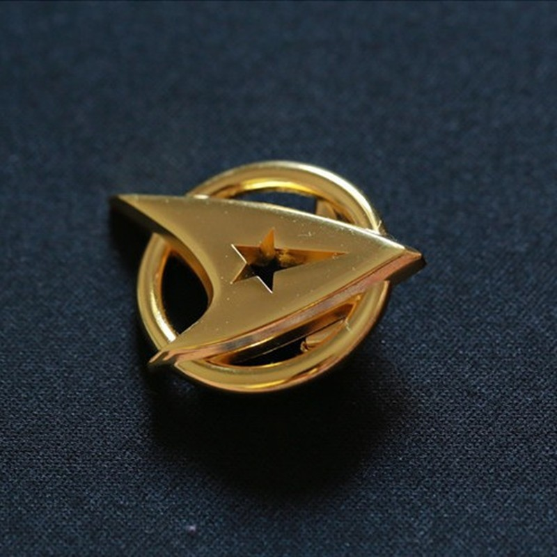 Star Trek Golden Insignia Badge Pin