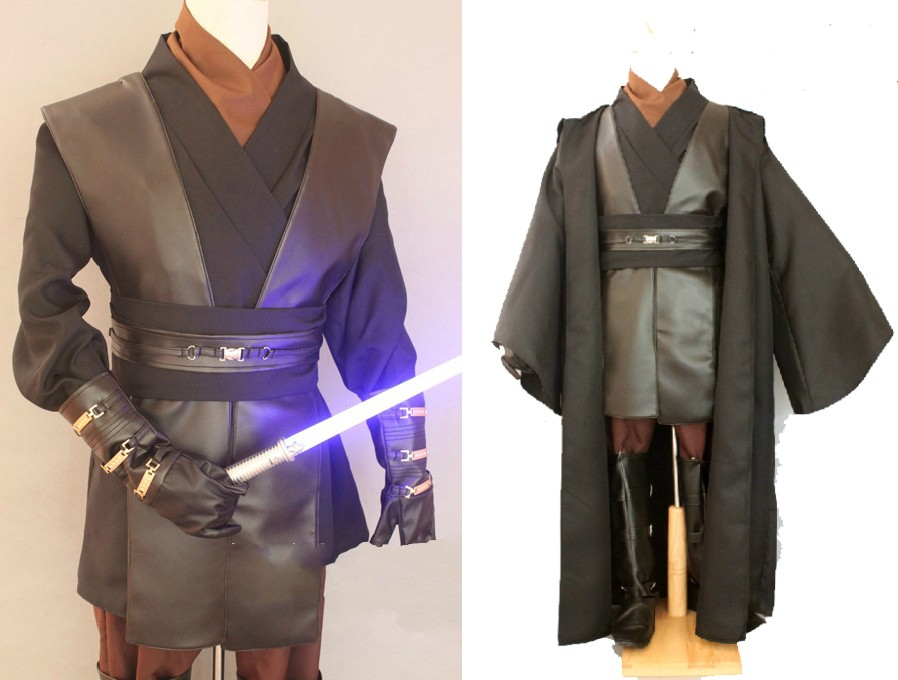 Star Wars Anakin Skywalker Cosplay Costume Outfit