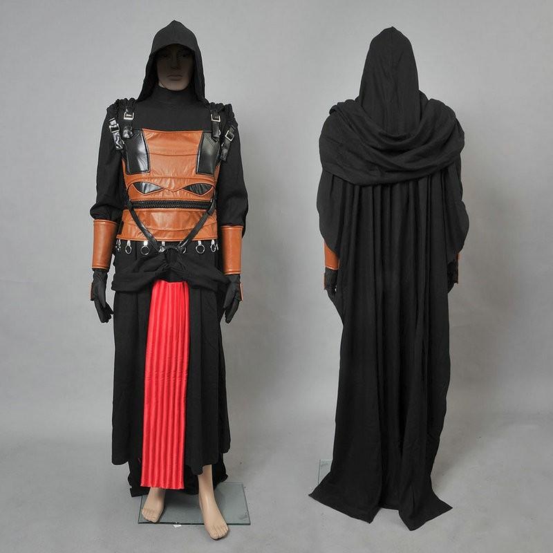 Star Wars Darth Revan Cosplay Costumes Deluxe Costume