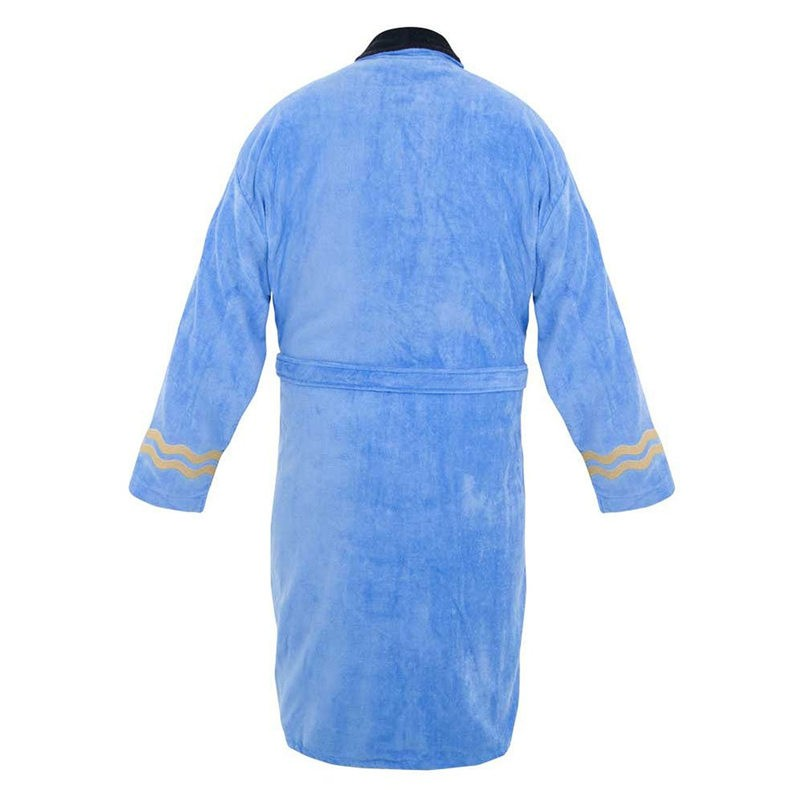 Star Trek Spock Costume Blue Bath Robe