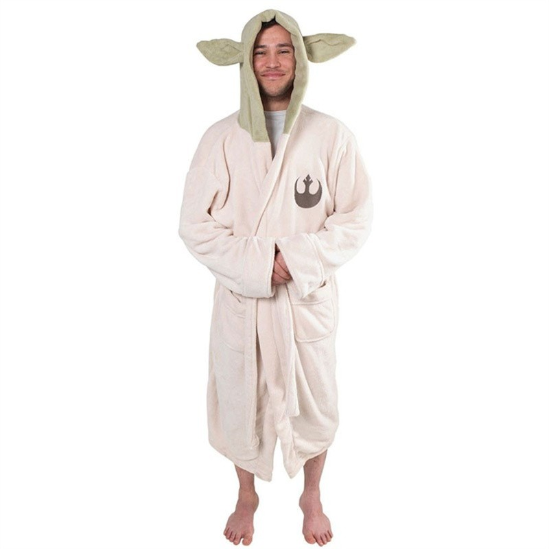 Star Wars Yoda Pajamas Bathrobe Cosplay