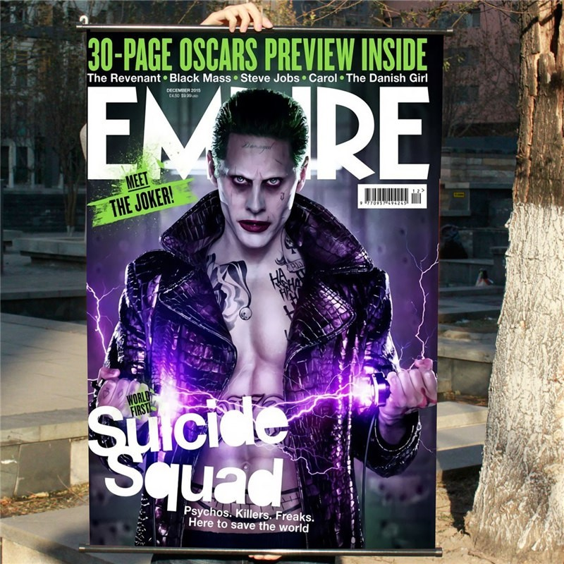 Suicide Squad Joker Clown Jared Leto Poster Decor