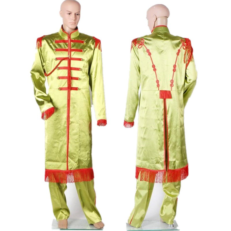 The Beatles Sgt. Pepper's Lonely Hearts Club Band John Lennon Full Suit Cosplay Costume