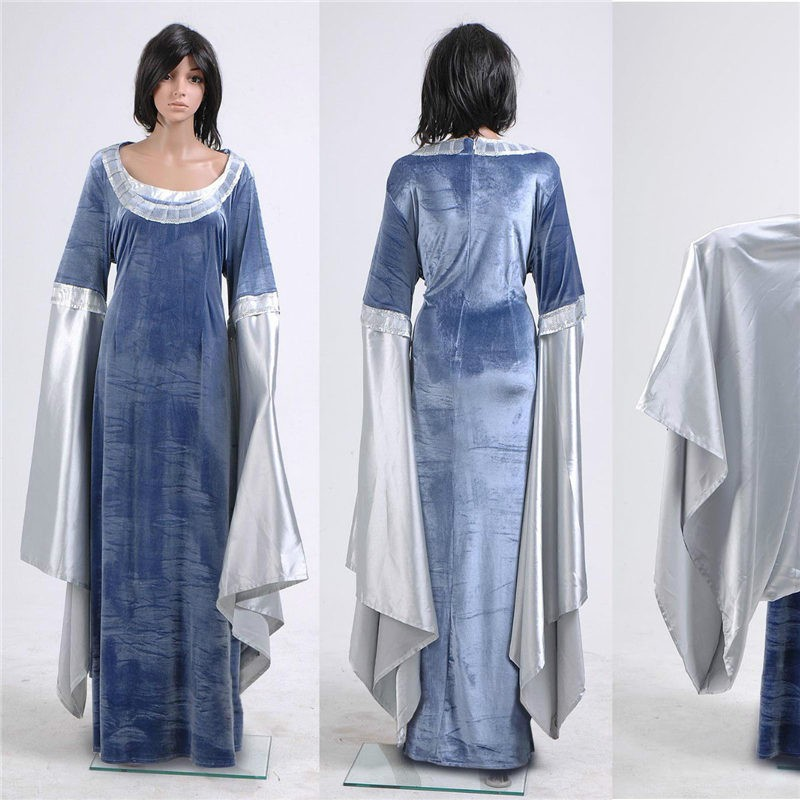 The Lord Of The Rings Cosplay Arwen Traveling Dress Costume