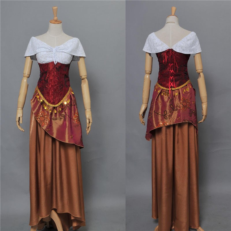 The Phantom of the Opera Cosplay Christine Daae Dress Costume