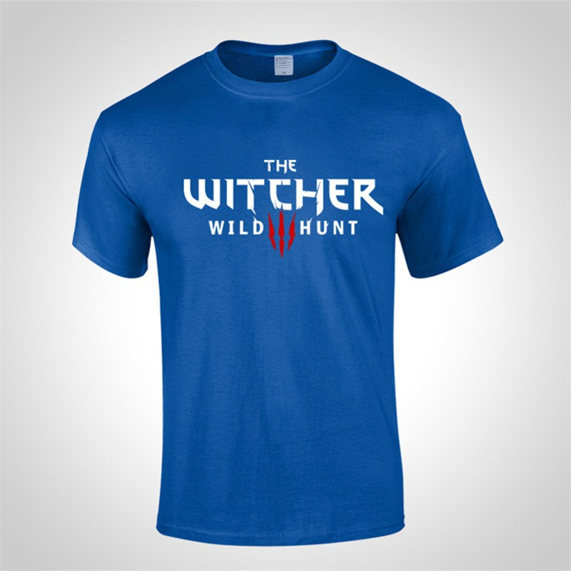 The Witcher 3 Wild Hunt Logo Tee Shirt