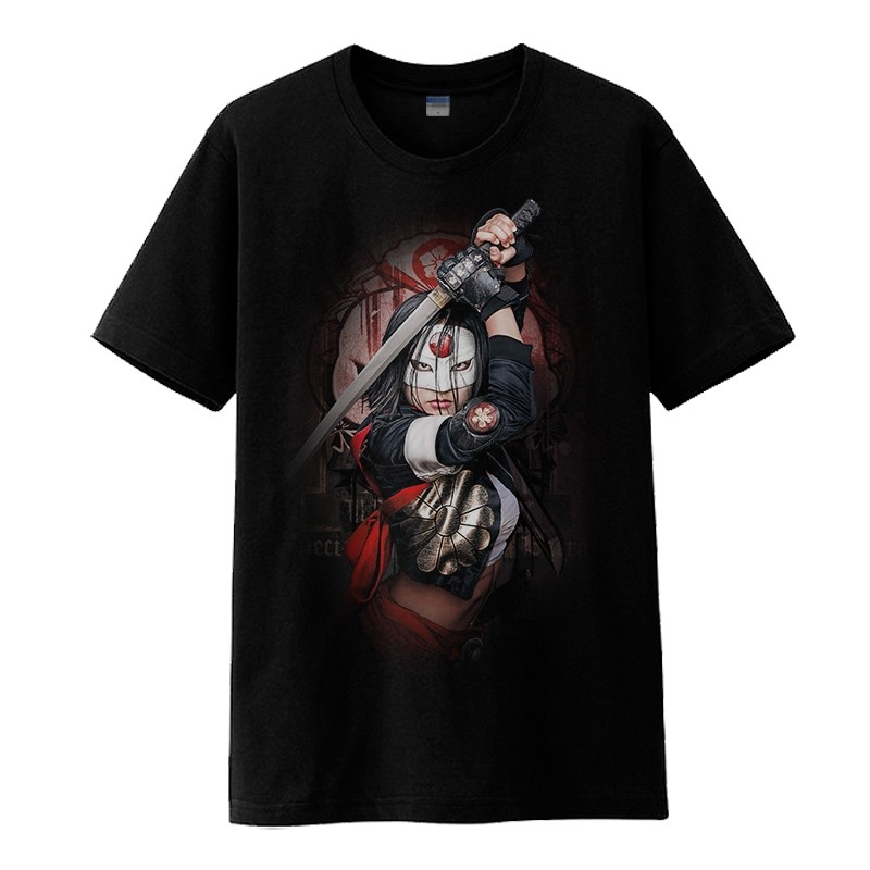 Timecosplay DC Suicide Squad Katana Tee Shirts