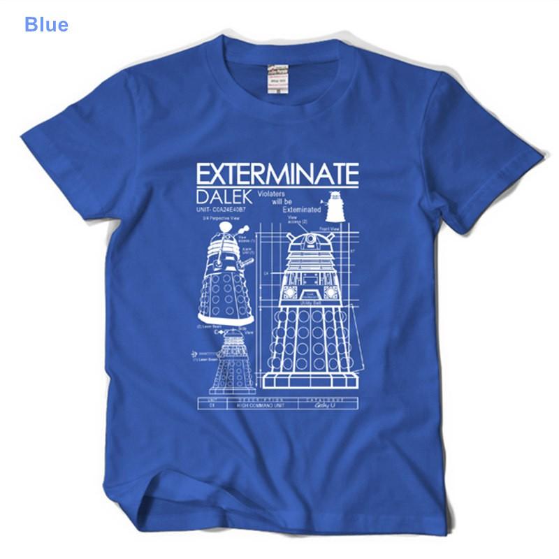 Timecosplay Doctor Who Dalek Exterminate Tee Shirt