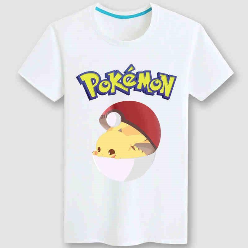 Timecosplay 2016 Pokemon Go Icon Men Cool Tee Shirt